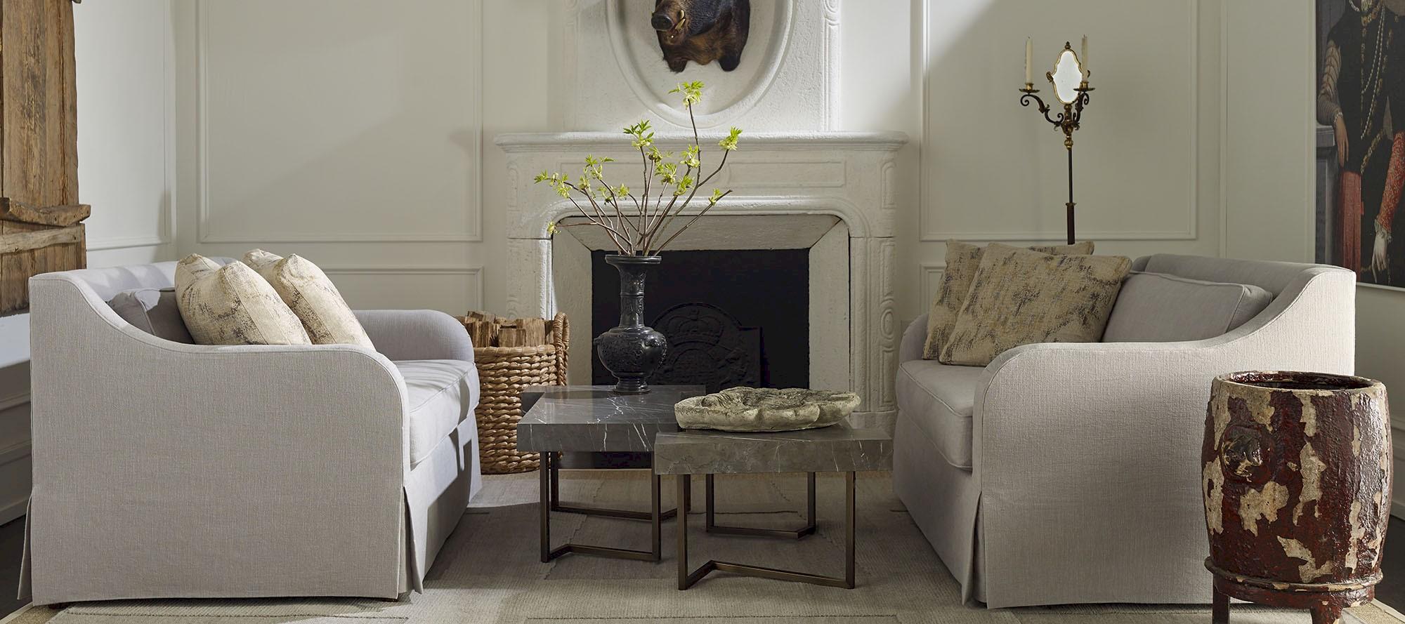 Living Room Furniture   Elaine S. Baker & Associates   Fine ...